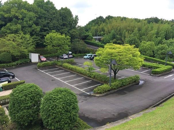 さぬき空港公園の第4駐車場