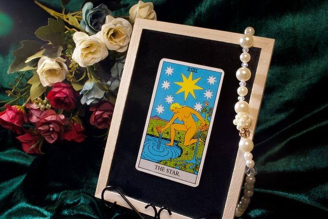 タロットカード「the star」