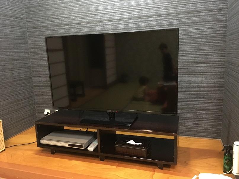 絶景の宿さくら亭の客室のテレビ