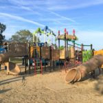 仏生山公園の新しい遊具の全体写真