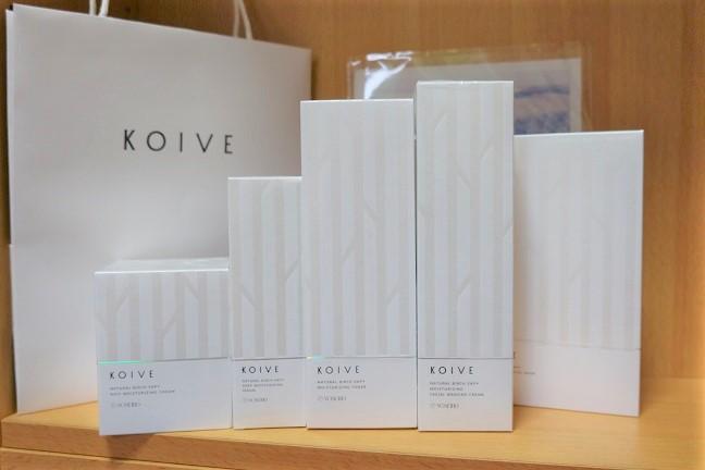 KOIVEモイストセットのフルセット写真