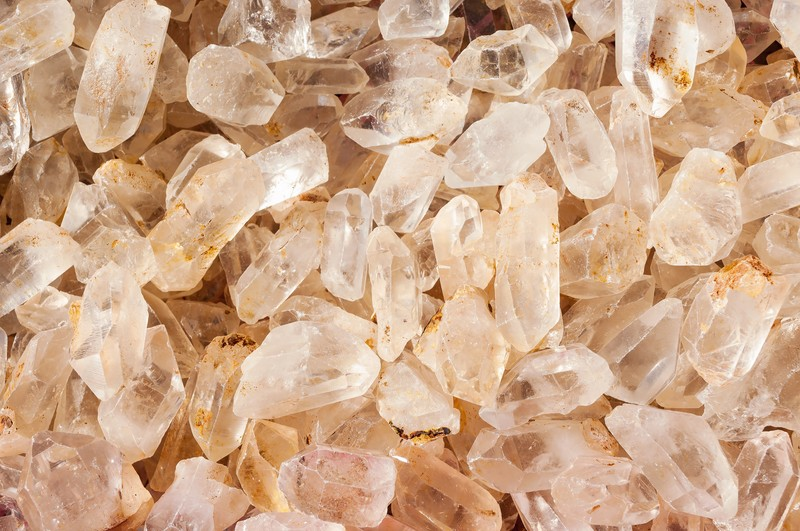 水晶チップの写真